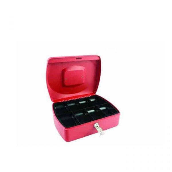 CASH BOX 10″ RED 8878M