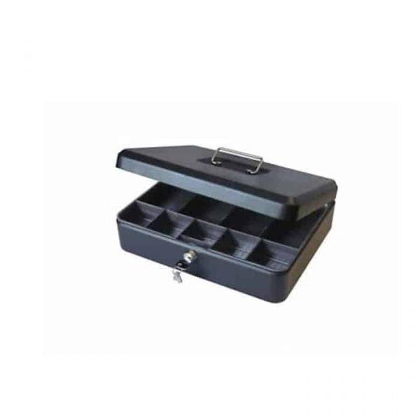 """CASH BOX 12"""" BLACK 8878L"""