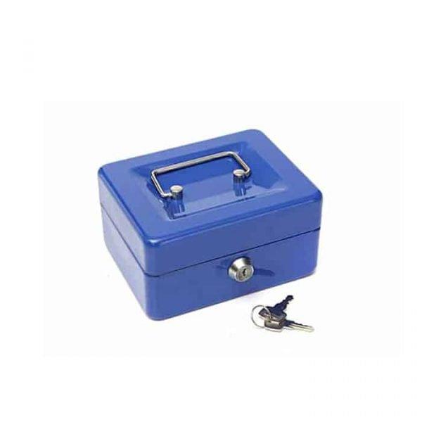 "CASH BOX 6"" BLUE 68878XS"
