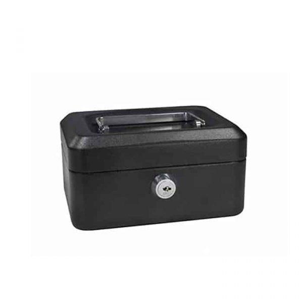 CASH BOX 8'' BLACK 8878S