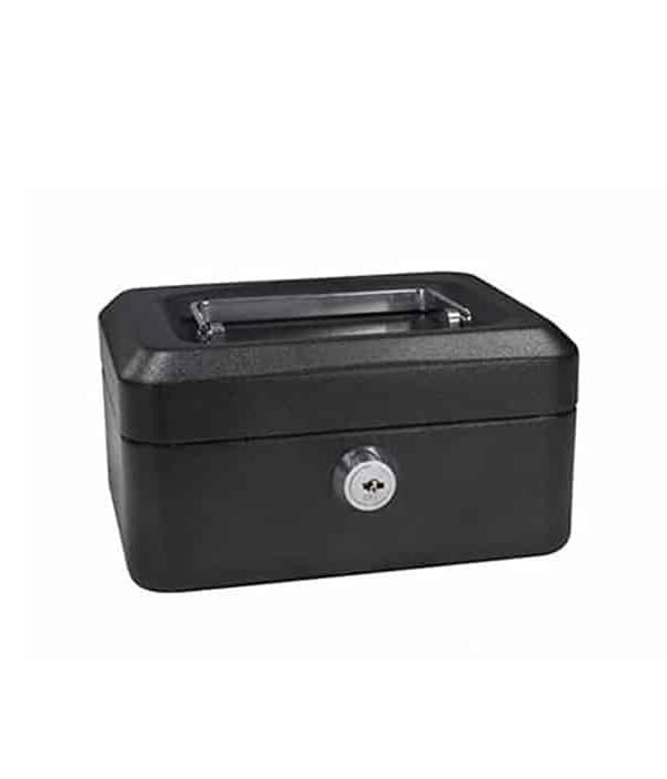 CASH BOX 8'' BLACK 8878S