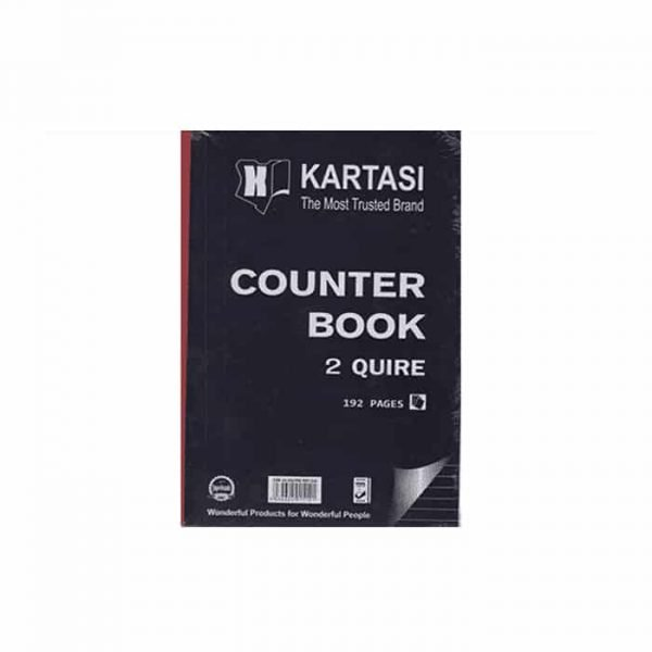 COUNTER BOOK A4 2Q 192 PAGES