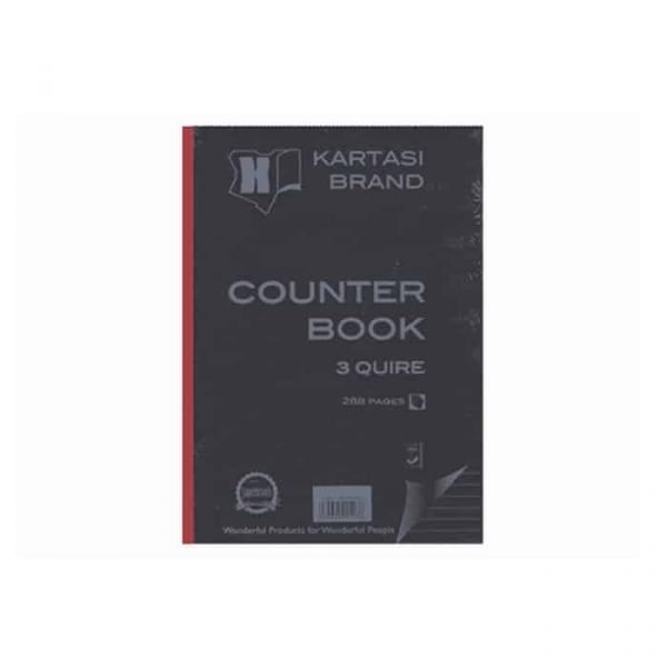 COUNTER BOOK A4 3Q 288 PAGES