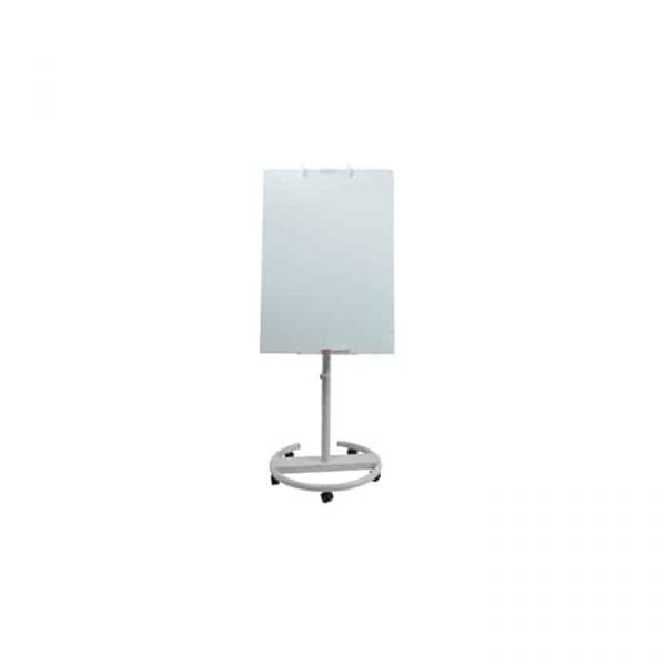 Flip chart glass board