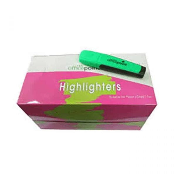 Green Highlighter Hl-01 12-Pack