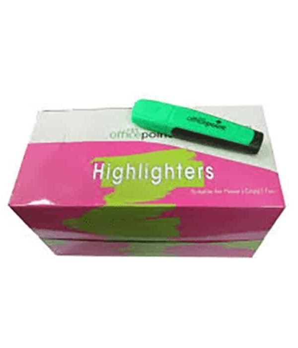 Green Highlighter Hl-01 12-Pack