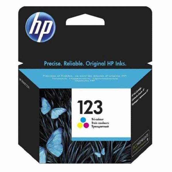 HP 123 Tri-color Cartridge