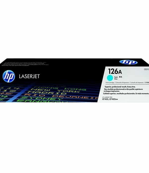 HP 126A CYAN TONER