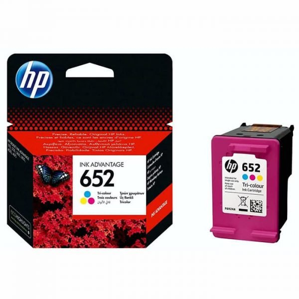 HP 652 Tri-colorCartridge