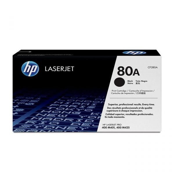 HP 80A Black Toner