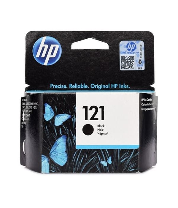 HP 121 Black Cartridge