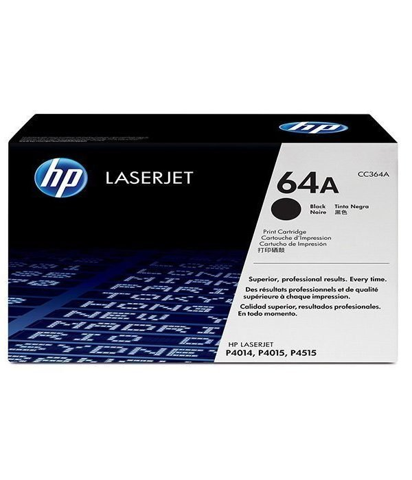 HP 64A Black toner