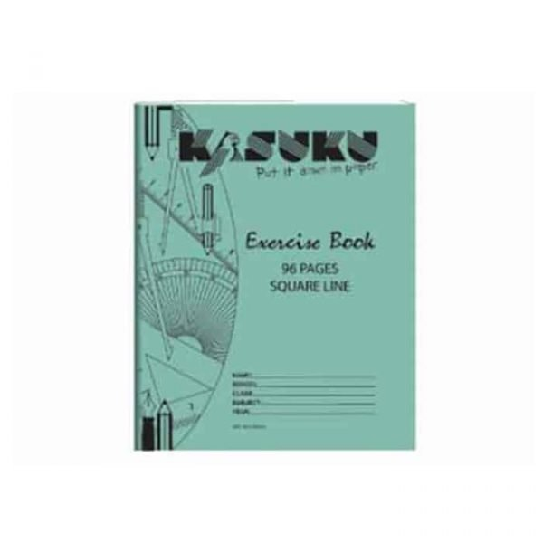 Kasuku Exercise Book A5 Squared 96 Pages