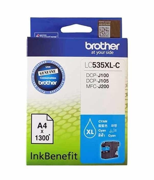 LC535XL CYAN BROTHER CARTRIDGE