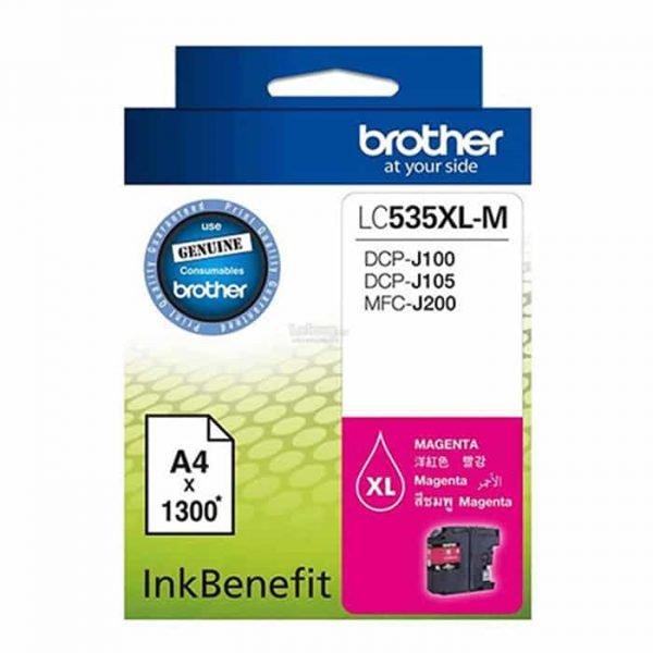 LC535XL MAGENTA BROTHER CARTRIDGE