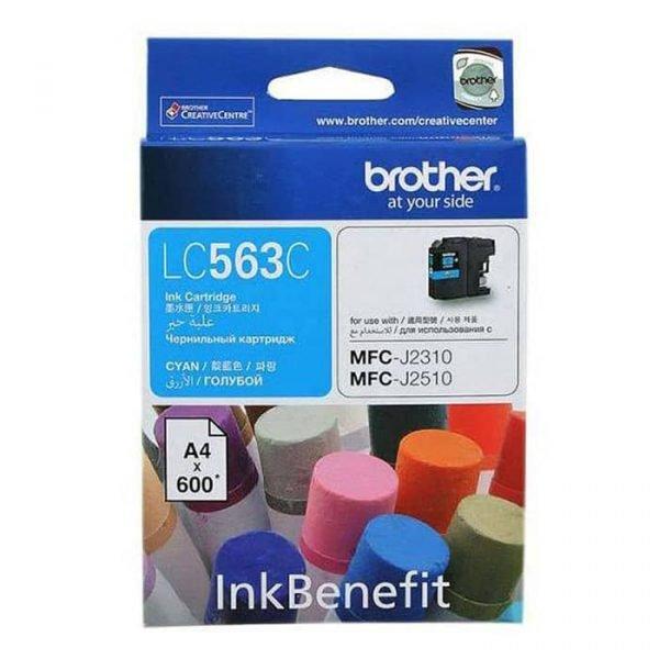 LC563C CYAN INK CARTRIDGE BROTHER