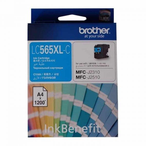 LC565XL CYAN INK CARTRIDGE BROTHER