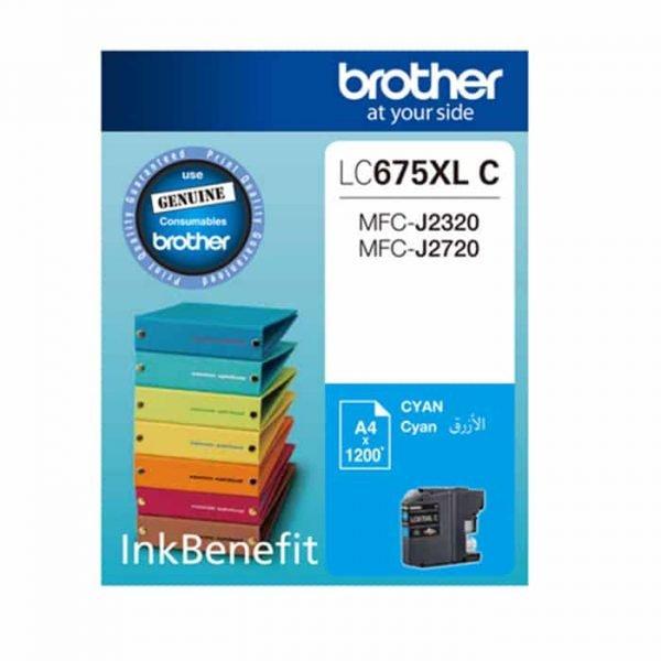 LC675XL CYAN INK CARTRIDGE BROTHER