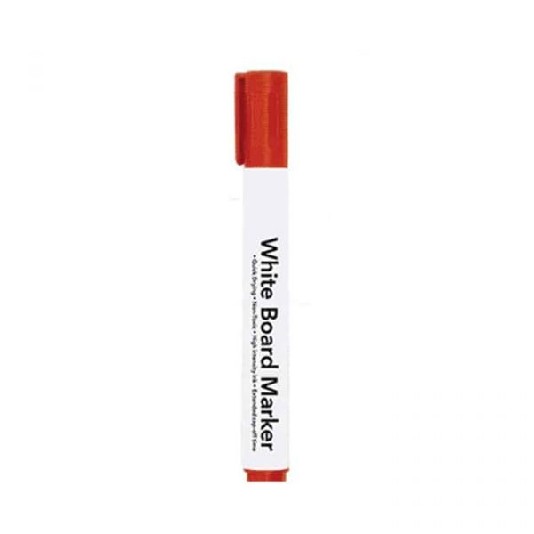 Red Whiteboard Marker 10-Pack