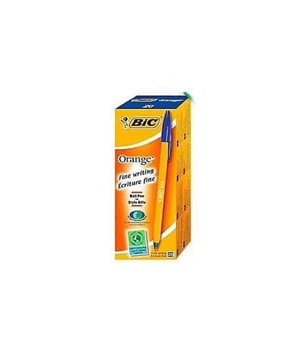 BIC fine Pointed Blue Pack 20 0.7