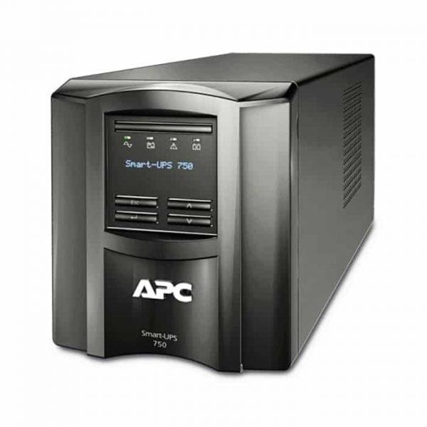 apc smart-ups 500watts750 va input 230voutput 230v