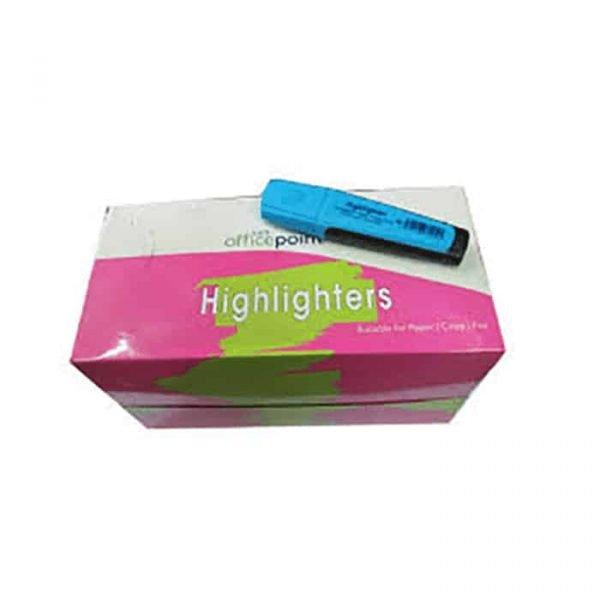 Blue Highlighter Hl-01 12-Pack