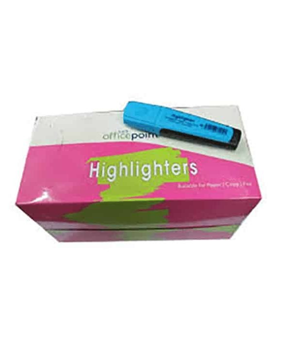 Blue Highlighter Hl-01 12-Pack