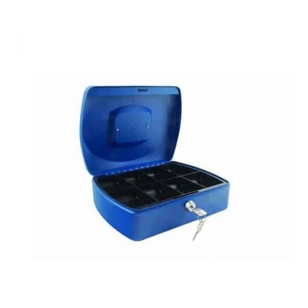 """CASH BOX 10"""" BLUE 8878M"""
