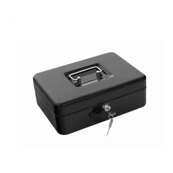 "CASH BOX 6"" BLACK 68878XS"