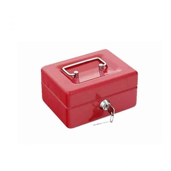 "CASH BOX 6"" RED 68878XS"
