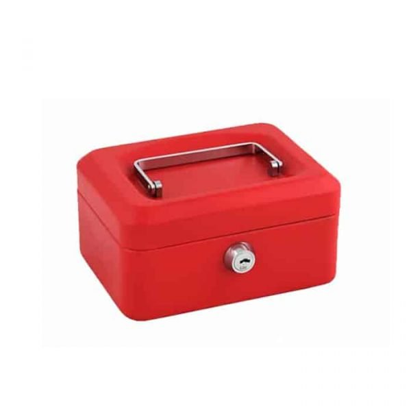 CASH BOX 8'' RED 8878S