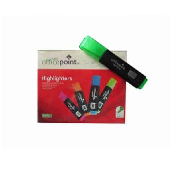 Green Highlighter Hl-801 12-Pack