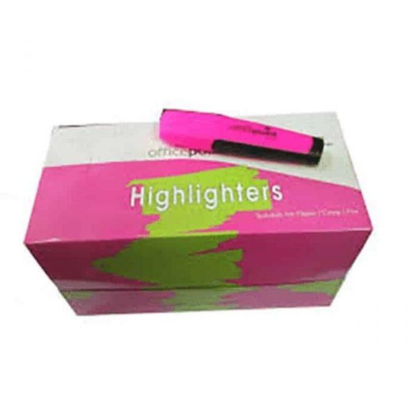 Yellow Highlighter Hl-01 12-Pack