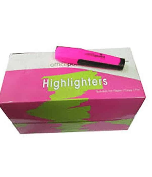 Yellow Highlighter Hl-01 12-Pack