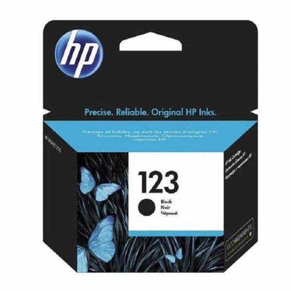 HP 123 Black Cartridge