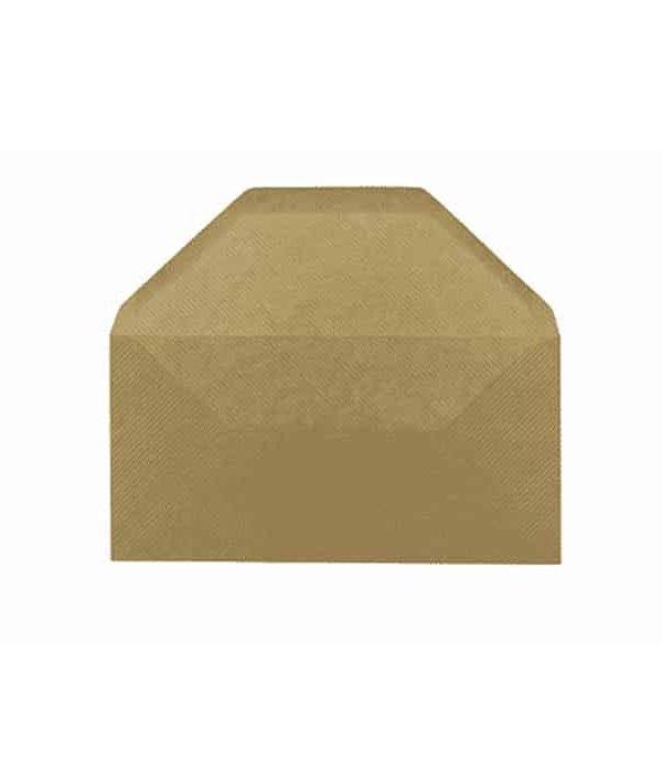Brown Envelope DL 110 x 220 mm 25-Pack