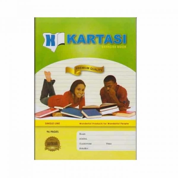 Kartasi Exercise Book A4 Single Line 96 Pages