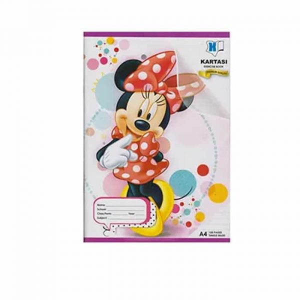 Kartasi Exercise Book A4 Single line Disney 120 pages