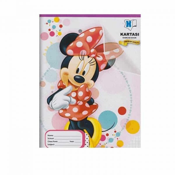 Kartasi Exercise Book A4 Squared Disney 120 pages