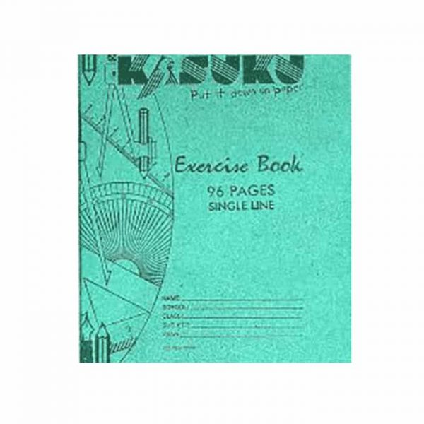 Kasuku Exercise Book A5 Single Line 96 Pages