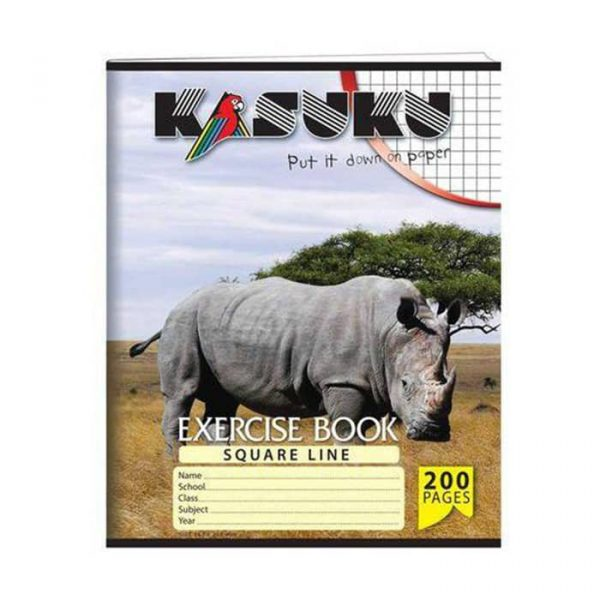 Kasuku Exercise book A5 Squared 200 pages