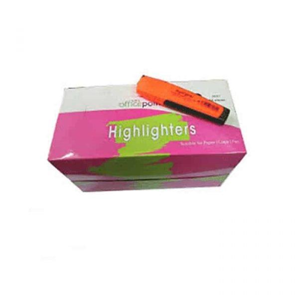 Orange Highlighter Hl-01 12-Pack