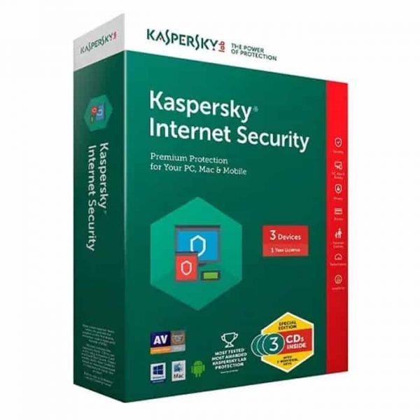 Kaspersky Internet Security 3 user