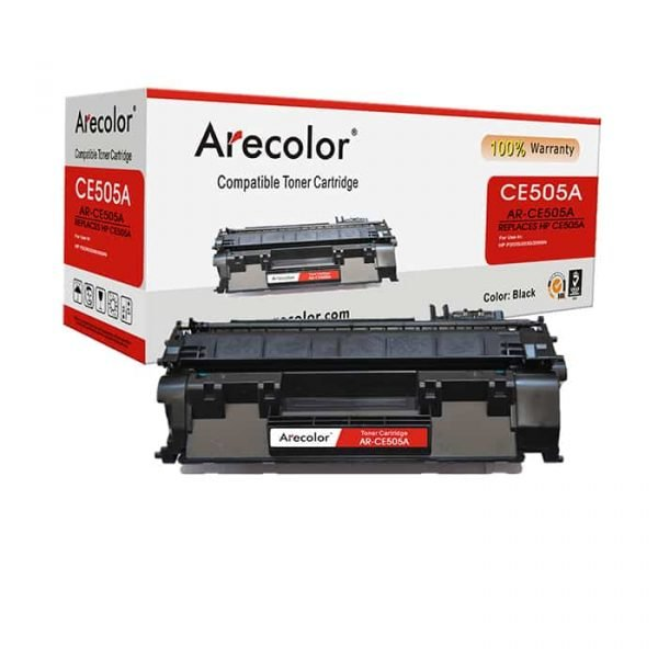 ARECOLOR 05A BLACK TONER(AR-CE505A)