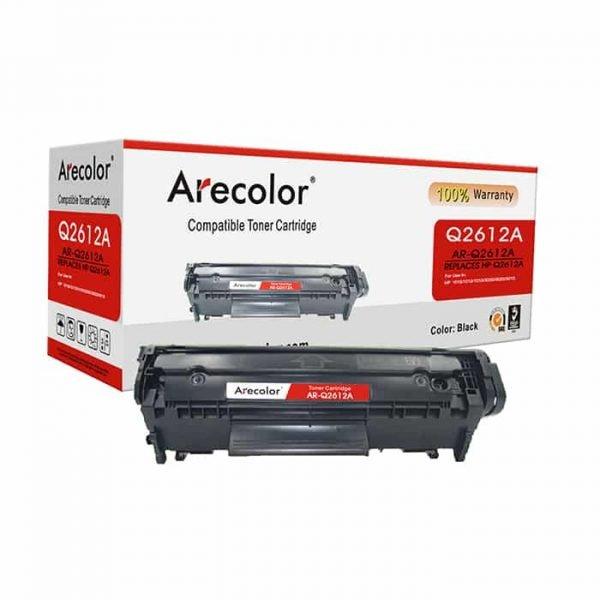 ARECOLOR 12A BLACK TONER (AR-Q2612A)
