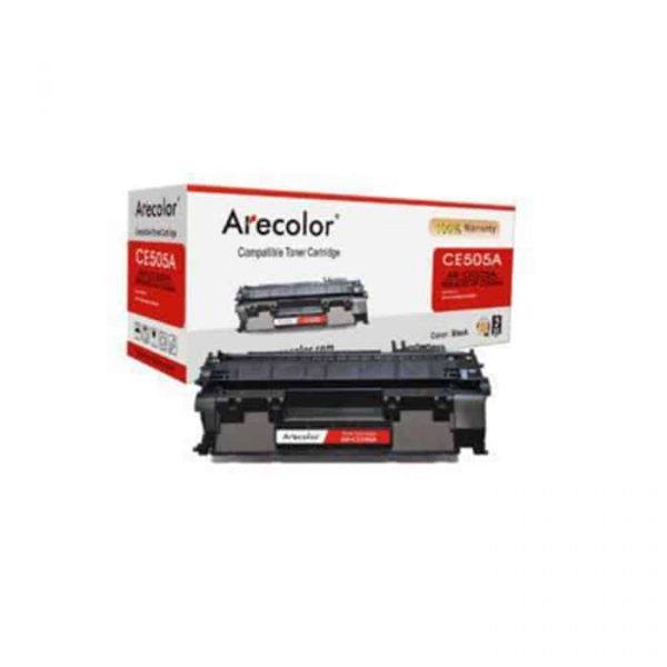 ARECOLOR 36A BLACK TONER (AR-CE436A)