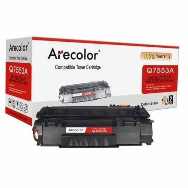 ARECOLOR 53A BLACK TONER(AR-Q7553A)