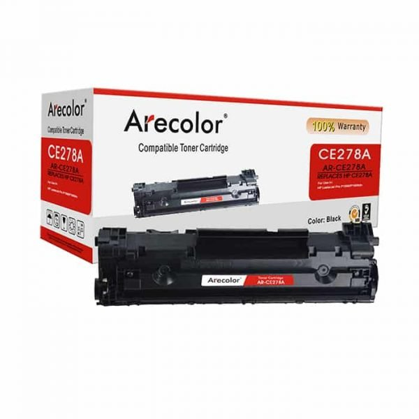 ARECOLOR 78A BLACK TONER(AR-CE278A)