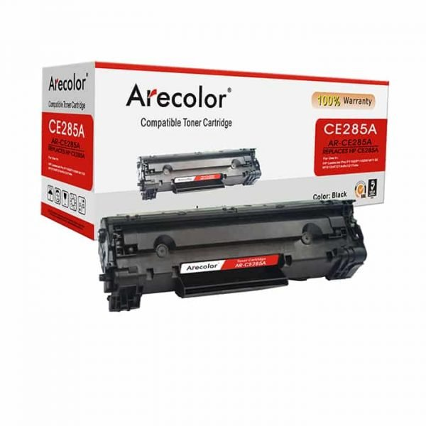 ARECOLOR 85A BLACK TONER(AR-CE285A)