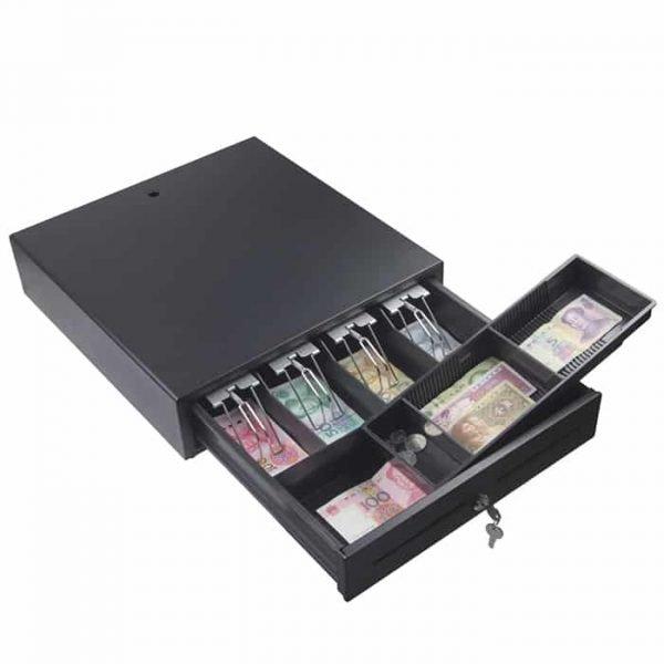 Gsan Cash Drawer 5 tray Black